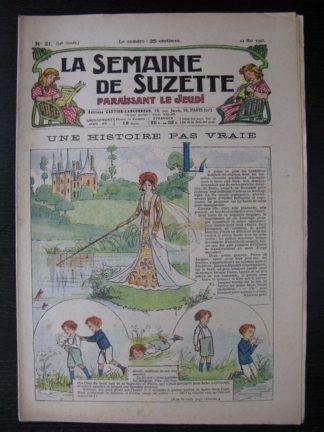 La Semaine de Suzette 24e année n°21 (24 mai 1928) Bécassine