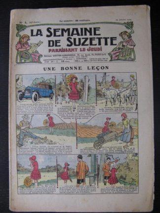 La Semaine de Suzette 25e année n°4 (24 janvier 1929) Miloula la negrillonne