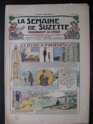 La Semaine de Suzette 25e année n°5 (31 janvier 1929) Miloula la negrillonne