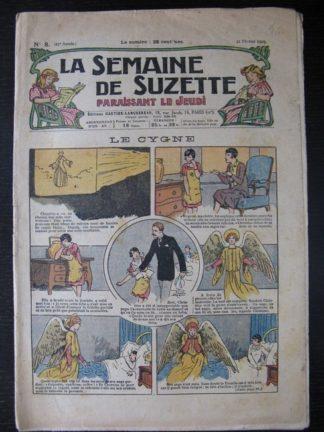 La Semaine de Suzette 25e année n°8 (28 février 1929) Miloula la negrillonne