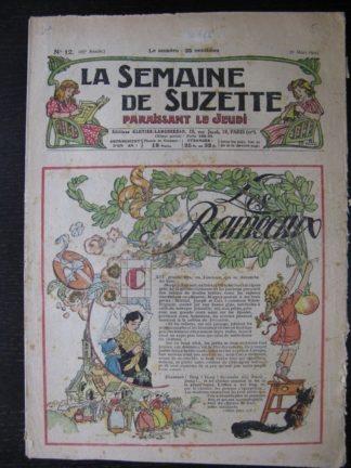 La Semaine de Suzette 25e année n°12 (21 mars 1929) Miloula la negrillonne Bleuette