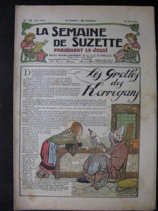La Semaine de Suzette 25e année n°16 (18 avril 1929) Maurice Berty Bleuette