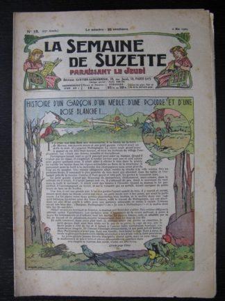 La Semaine de Suzette 25e année n°18 (2 mail 1929)