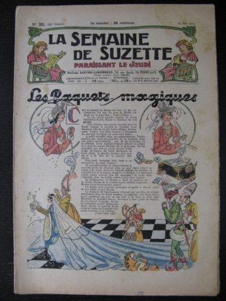 La Semaine de Suzette 25e année n°20 (16 mail 1929)