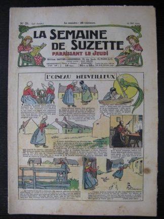 La Semaine de Suzette 25e année n°21 (23 mail 1929)