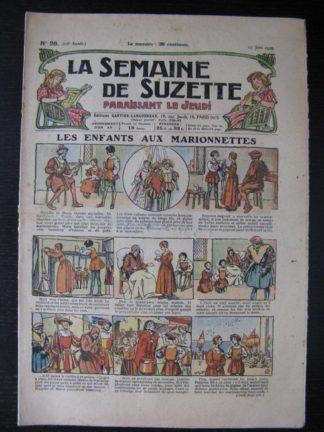 La Semaine de Suzette 25e année n°26 (27 juin 1929) Le Rallic Bleuette