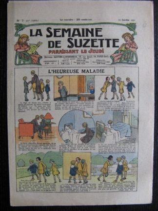 La Semaine de Suzette 27e année n°7 (1931) L'heureuse maladie Bécassine Bleuette