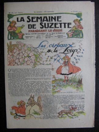 La Semaine de Suzette 27e année n°11 (1931) Les oiseaux et le loup - Bécassine