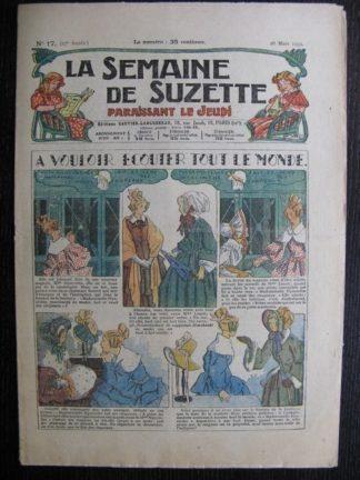 La Semaine de Suzette 27e année n°17 (1931) A vouloir écouter tout le monde - Bécassine