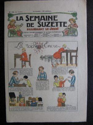 La Semaine de Suzette 27e année n°20 (1931) La tache d'encre – Bécassine