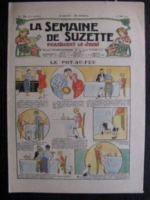 La Semaine de Suzette 27e année n°25 (1931) Le pot-au-feu – Bécassine