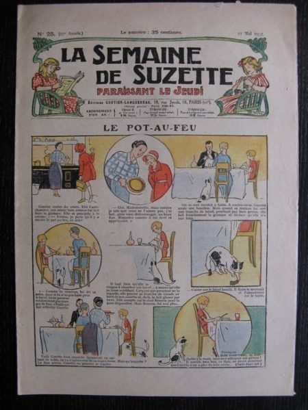 La Semaine de Suzette 27e année n°25 (1931) Le pot-au-feu - Bécassine