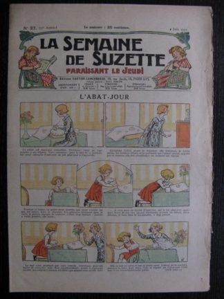 La Semaine de Suzette 27e année n°27 (1931) L'abat-jour - Bécassine