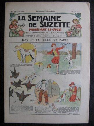 La Semaine de Suzette 27e année n°29 (1931) Jack et la poule qui parle (Le Rallic ) Bécassine