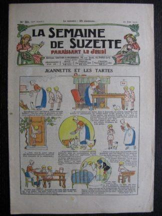 La Semaine de Suzette 27e année n°30 (1931) Jeannette et les tartes - Bécassine