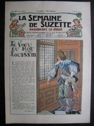 La Semaine de Suzette 27e année n°37 (1931) Le vœu du roi Louis XIII - Mimi à Paris