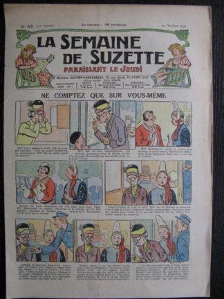 La Semaine de Suzette 27e année n°47 (1931) Ne comptez que sur vous-même - Marraine chez Nane