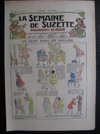 La Semaine de Suzette 27e année n°48 (1931) Un clou dans un soulier - Marraine chez Nane