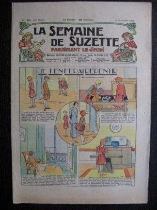 La Semaine de Suzette 27e année n°50 (1931) Je t'en ferai repentir - Marraine chez Nane