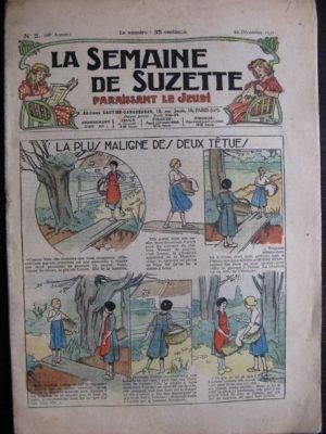 La Semaine de Suzette 28e année n°2 (1931) La plus maligne des deux tétues – Bécassine