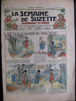 La Semaine de Suzette 28e année n°2 (1931) La plus maligne des deux tétues - Bécassine