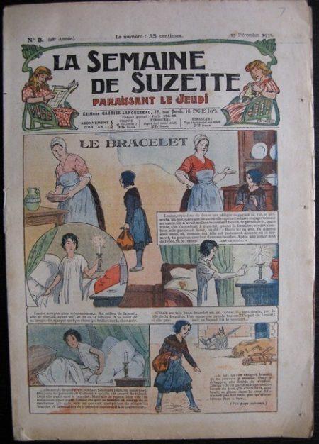 La Semaine de Suzette 27e année n°3 (1931) La bracelet