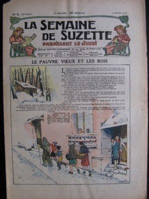 La Semaine de Suzette 28e année n°6 (1932) Le pauvre vieux et les rois – Bleuette Bécassine