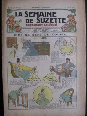 La Semaine de Suzette 28e année n°9 (1932) Rien ne sert de courir – Bécassine