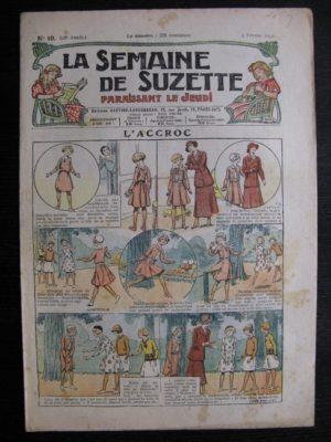 La Semaine de Suzette 28e année n°10 (1932) L'accroc – Bécassine