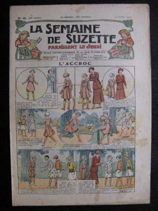 La Semaine de Suzette 28e année n°10 (1932) L'accroc - Bécassine