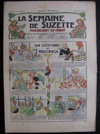 La Semaine de Suzette 28e année n°11 (1932) Un costume de Kekcekça (Manon Iessel) Bécassine