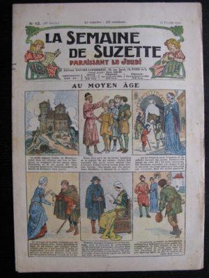 La Semaine de Suzette 28e année n°13 (1932) Au Moyen Âge – Bécassine