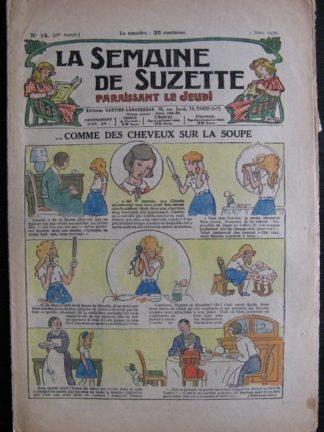 La Semaine de Suzette 28e année n°14 (1932) Comme des cheveux sur la soupe - Bécassine