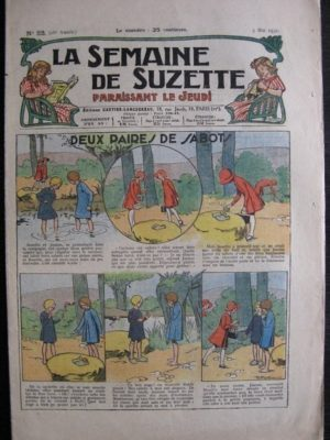 La Semaine de Suzette 28e année n°23 (1932) Deux paires de sabots – Bécassine