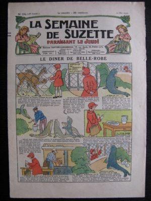 La Semaine de Suzette 28e année n°24 (1932) Le diner de Belle-Robe – Bécassine