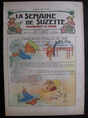 La Semaine de Suzette 28e année n°26 (1932) La chanson de feuille de thé – Bécassine