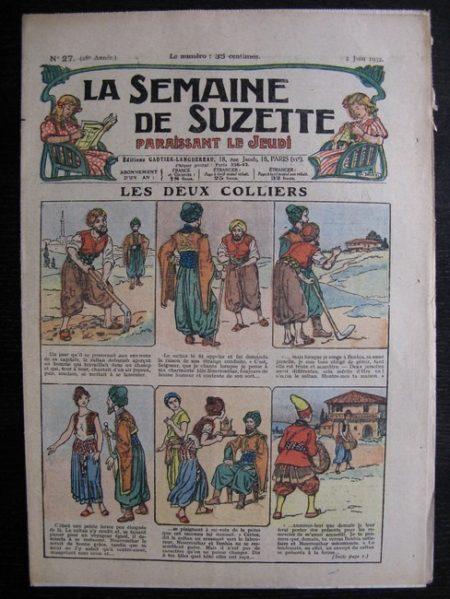 La Semaine de Suzette 28e année n°27 (1932) Les deux colliers - Bécassine