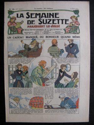 La Semaine de Suzette 28e année n°28 (1932) Un cadeau manqué, du bonheur quand même – Bécassine
