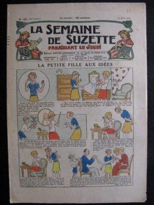 La Semaine de Suzette 28e année n°30 (1932) La petite fille aux idées – Bleuette Bécassine