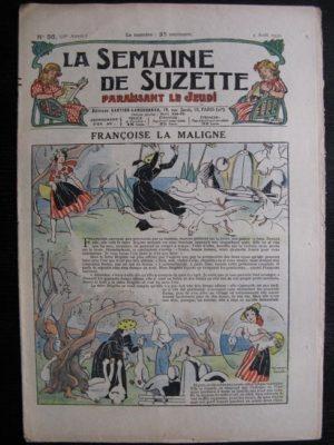 La Semaine de Suzette 28e année n°36 (1932) Françoise la maligne – Mimi en voyage