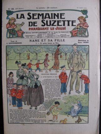 La Semaine de Suzette 28e année n°38 (1932) Nane et sa fille