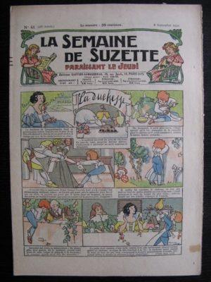 La Semaine de Suzette 28e année n°41 (1932) La duchesse (Manon Iessel) Nane et sa fille