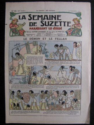 La Semaine de Suzette 28e année n°43 (1932) Le démon et le fellah (Manon Iessel) Nane et sa fille