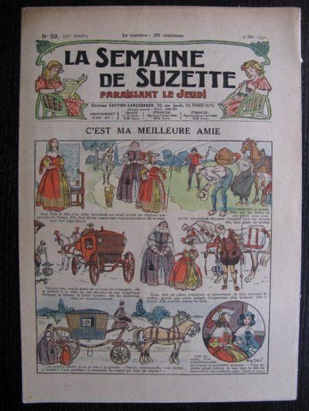 La Semaine de Suzette 27e année n°23 (1931) C'est ma meilleure amie - Bleuette Bécassine