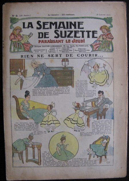La Semaine de Suzette 28e année n°9 (1932) Rien ne sert de courir - Bécassine