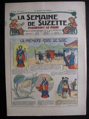 La Semaine de Suzette 28e année n°29 (1932) La première robe de soie – Bécassine