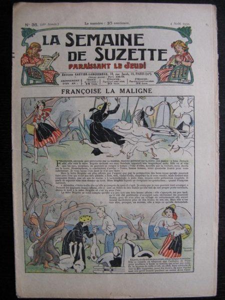 La Semaine de Suzette 28e année n°36 (1932) Françoise la maligne - Mimi en voyage