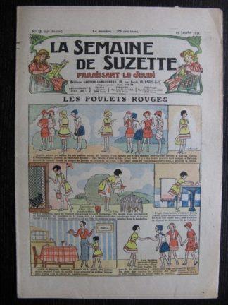 La Semaine de Suzette 27e année n°9 (1931) Les poulets rouges - Bécassine
