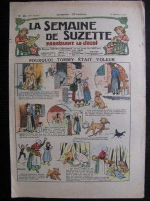 La Semaine de Suzette 28e année n°45 (1932) Pourquoi Tommy était – voleur Nane et sa fille