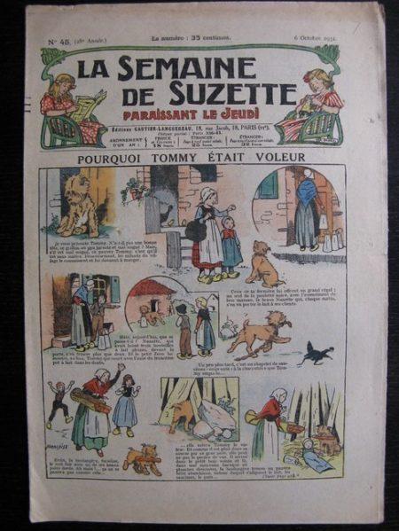 La Semaine de Suzette 28e année n°45 (1932) Pourquoi Tommy était voleur Nane et sa fille